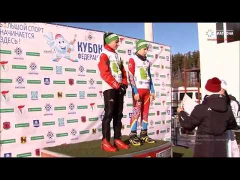 4 этап Белорусской федерации биатлона Золото Валерии Курчиной в смешанной эстафете