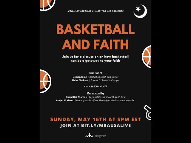 Faith and Basketball (Part 1)
