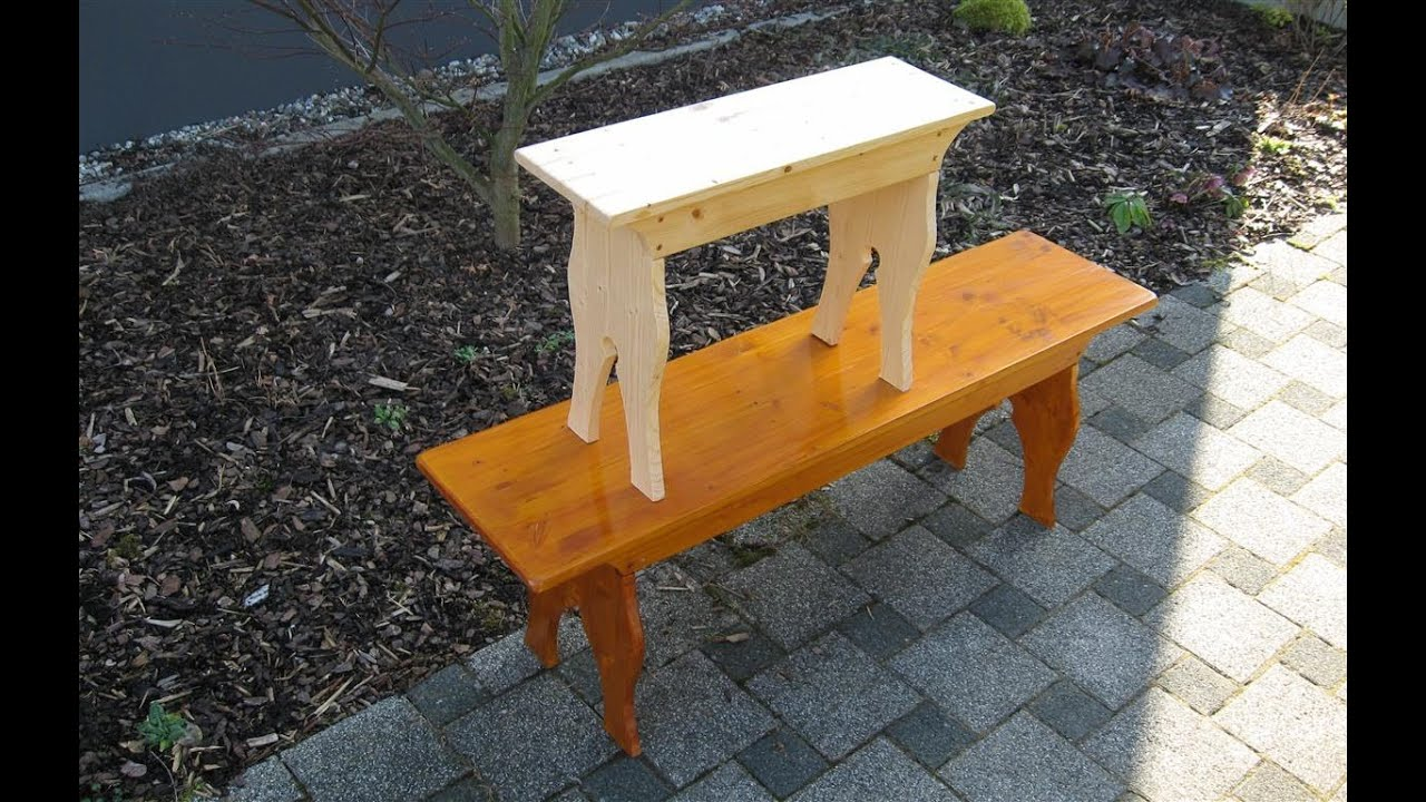 Marvelous photograph of How to make a little Five Board Bench woodworking   with #723E18 color and 1215x768 pixels