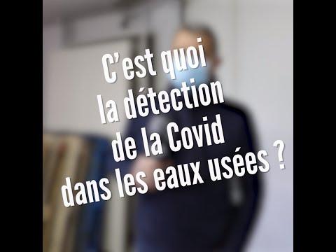 C'est quoi la détection de la COVID dans les eaux usées ?