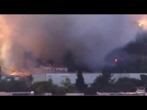 Incendie Semboules Antibes