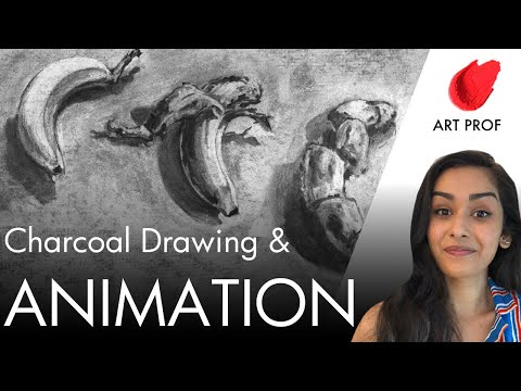 How to Animate a Charcoal Drawing with Stop Motion Studio App