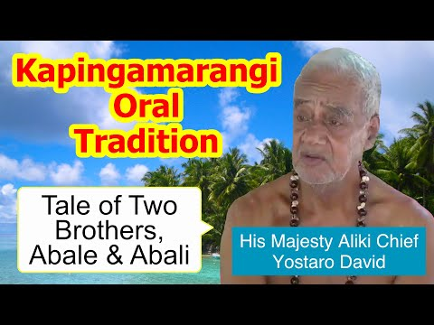 Tale of two brothers, Abale and Abali, Kapingamarangi Atoll