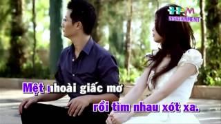 Karaoke Tàn Phai Giấc Mơ - Hoàng Bách (Demo Only).mp4