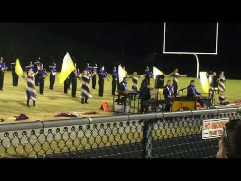 Fort Defiance High School Marching Band at Powhatan High School 10/29/17 Excerpts