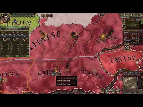 Let's play CK2 Jade Dragon with CK2+ mod / Lhaze (Tibet) - part 85 from YouTube · Duration:  20 minutes 8 seconds