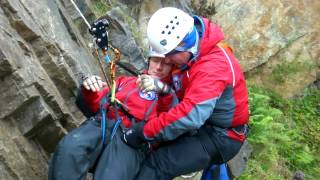 Kinder Mountain Rescue Team - Rope Rescue Training 15 9 13
