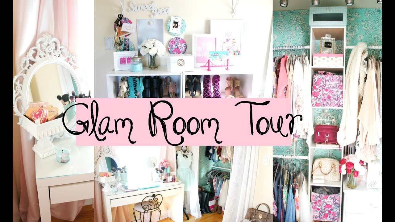 Belinda selene 39 s glam room tour youtube for Make my room
