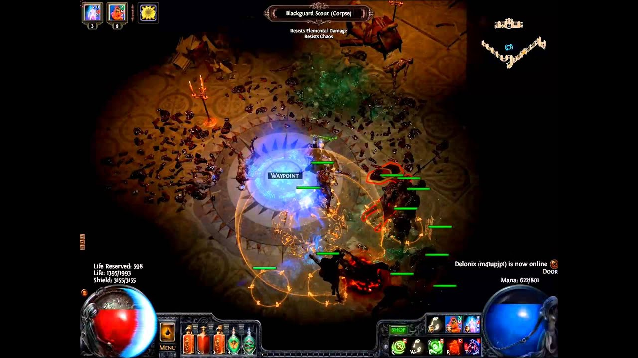 Poe Witch Shaper Build