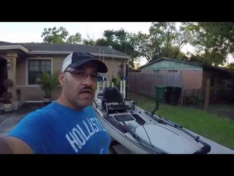 Hobie Pro Angler 14 custom offshore set up