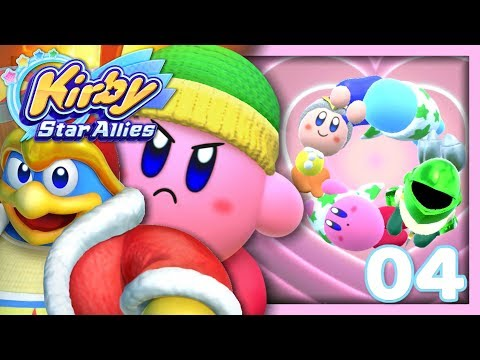 LE CERCLE DES AMIS !   KIRBY STAR ALLIES EPISODE 4 CO-OP NINTENDO SWITCH FR