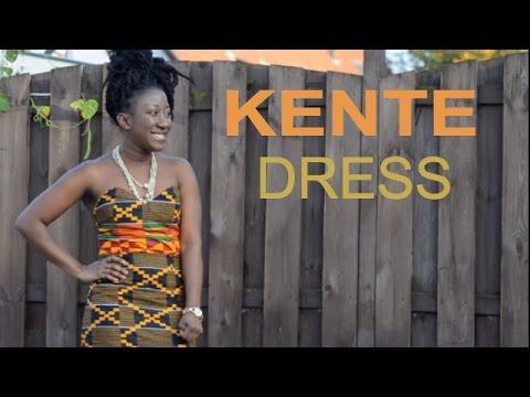 KENTE OOTD || African dress || ADEDE