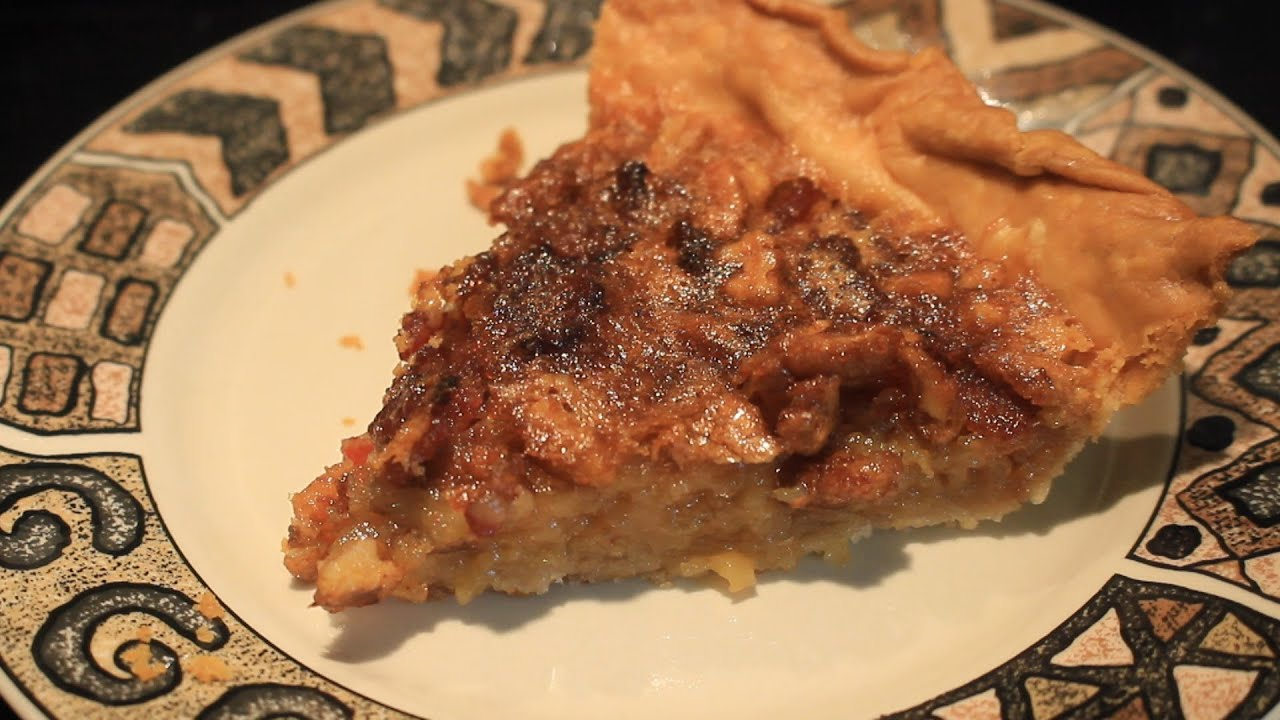 How to make a Bacon and Pecan Pie - YouTube
