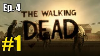 """The Walking Dead """"Episode 4 - Around Every Corner"""" Walkthrough / Gameplay Part 1 - Ring-A-Ling"""