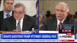 Jeff Sessions Confirmation Hearing - Defends his position on Illegal Immigration