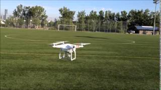 Toilet Bowl Effect (TBE) due to Magnetic Declination on DJI Phantom Vision 2+