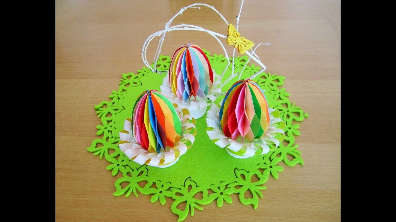 Origami Accordion Easter Eggs Tutorial - DIY - Paper Kawaii ... | 720x1280