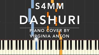 S4MM Dashuri - Piano Cover Tutorial