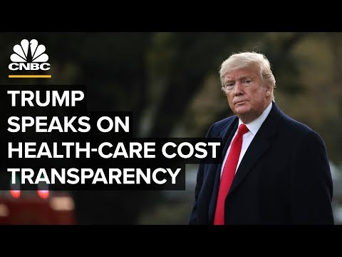 President Trump pushes for transparency in health-care costs – 11/15/2019 thumbnail