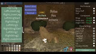 Making eon's into wolves on roblox (Activate Captions)