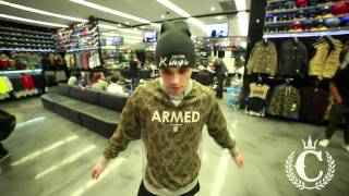 Crooks & Castles - Outfitters Crewneck Jumper Rain Camo (ft. Jordan @ Culture Kings Sydney)