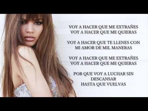 Leslie Grace - Voy a Hacer Que Me Extrañes Lyrics