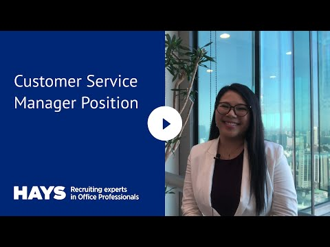 Customer Service Manager Position Available In Japan