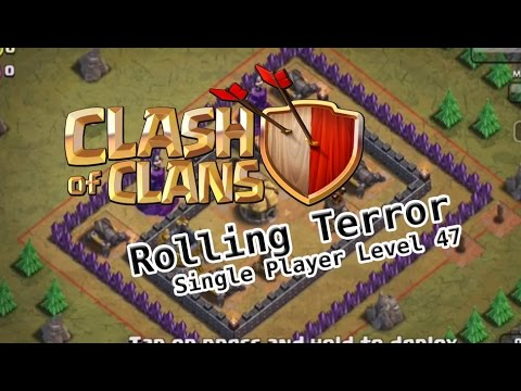 ROLLING TERROR Strategy! TH7 Troops - Level 47 Clash of Clans