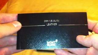 Montblanc wallet MX
