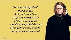 Lewis Capaldi - Someone You Loved (Lyrics) 🎵
