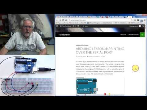 LESSON 4: Printing Over the Arduino Serial Port
