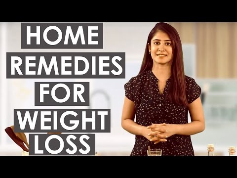 3 Easy & Quick Home Remedies For Weight Loss