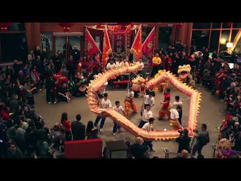 新春舞獅表演 | Chinese New Year Lion Dance 2018