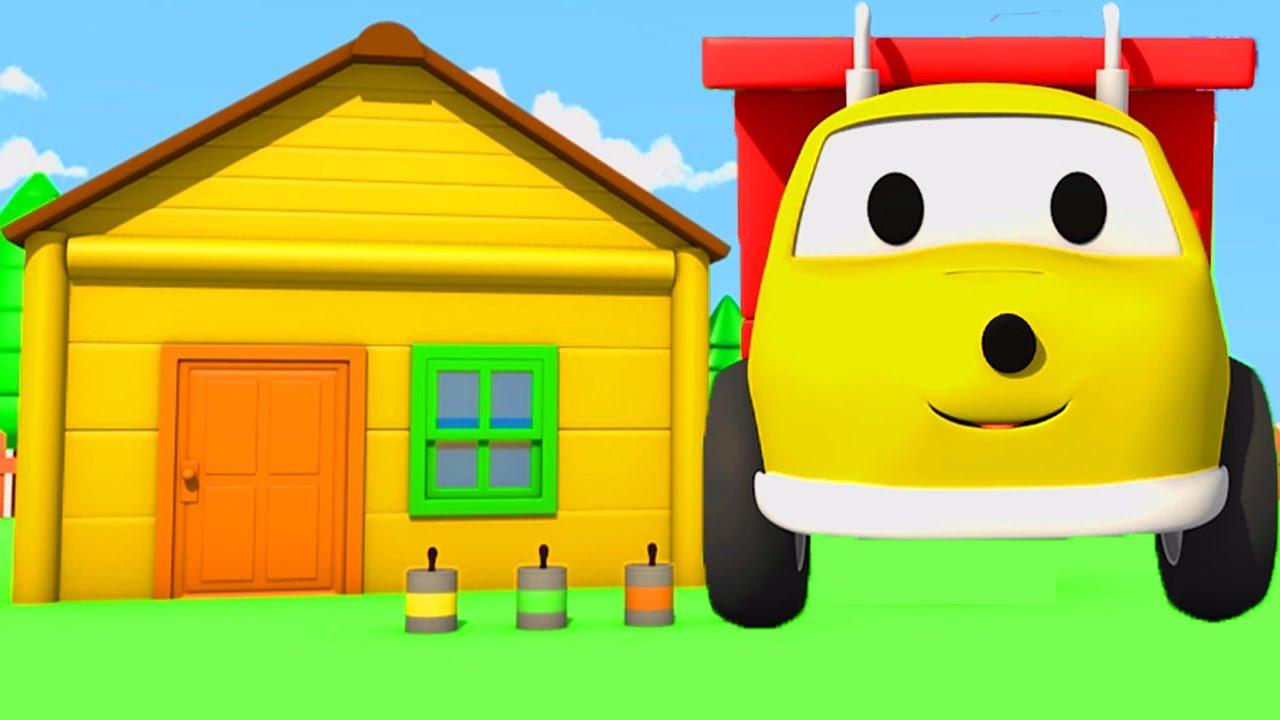 Ethan Pinta Una Casa Aprender Los Colores Con Ethan El Camión Volquete Dibujos Animados Niños