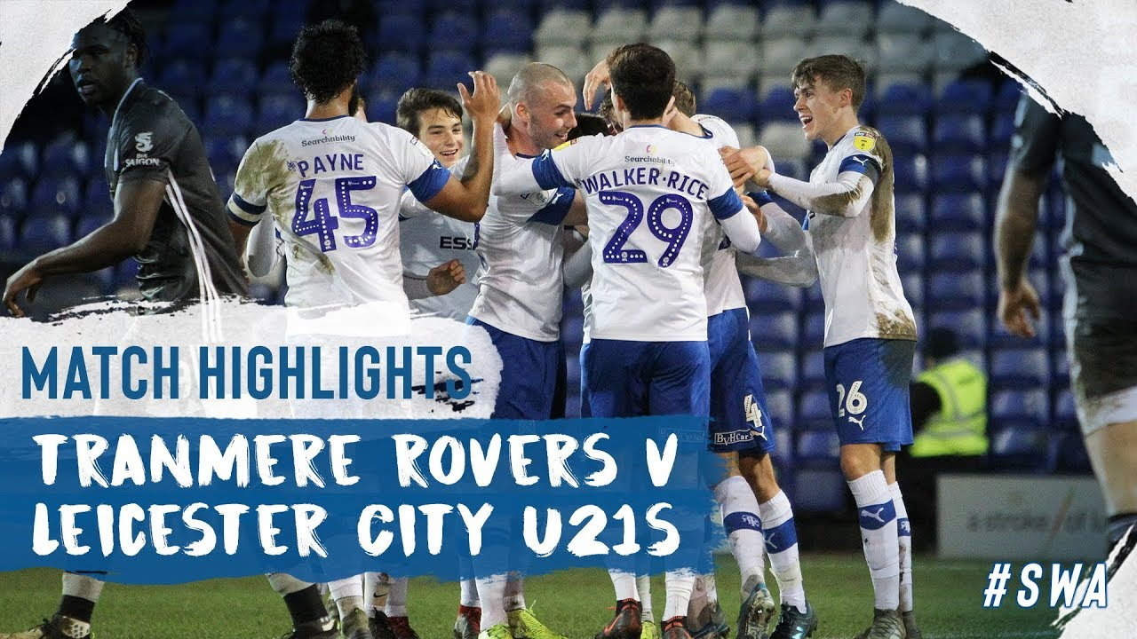 Транмир Роверс  1-2  Лестер Сити U21 видео