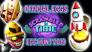 *OFFICIAL LEAK* ROBLOX EGG HUNT 2019 LEAK - SCRAMBLED IN TIME EVENT EGGS