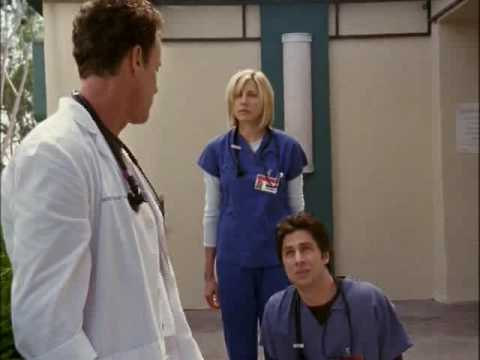 Scrubs Cox Chooses the New Chief Resident
