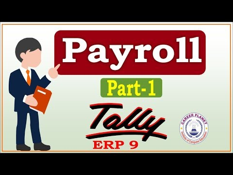 Payroll in Tally ERP 9 Class -1|Learn Tally Payroll Accounting Part-109