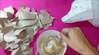 Papercraft Rigido solo con papel