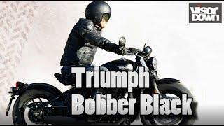 Triumph Bonneville Bobber Black review