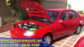 HD HYUNDAI ACCENT 2004 5TA ROJO, FINANCIO HD