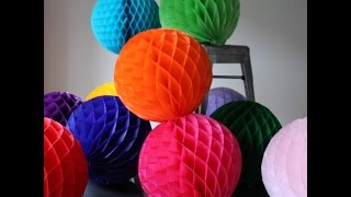 how to make paper ball