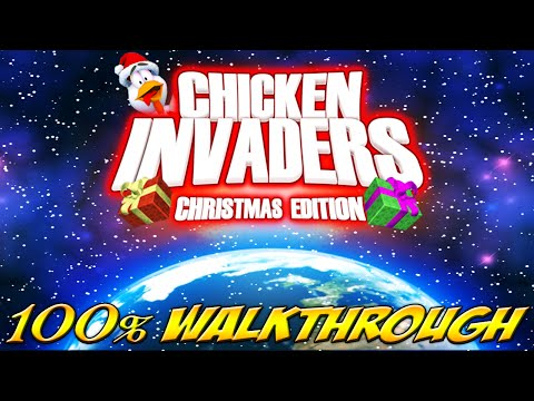 Chicken Invaders 5 - All Bosses (mobile)