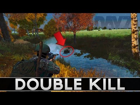 [0.61 EXP] Under Water DOUBLE KILL - DayZ Standalone