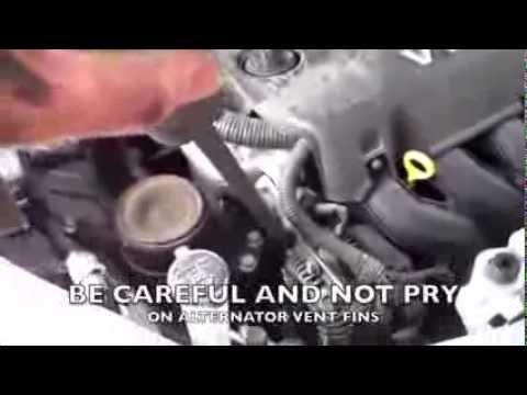SIMPLE drive belt Replacement Toyota Yaris Scion XA √ - YouTube
