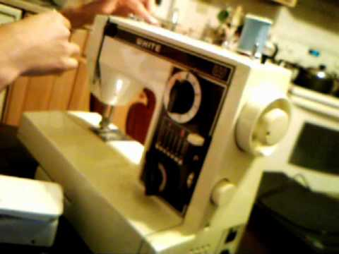 Beginning To Sew Thread Sewing Machine YouTube Enchanting How To Thread A Vintage Nelco Sewing Machine