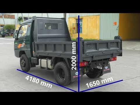 Giới Thiệu Xe Ben 990kg  1 Tấn TMT ZB5010D   Đẳng Cấp Xe Ben Nhỏ