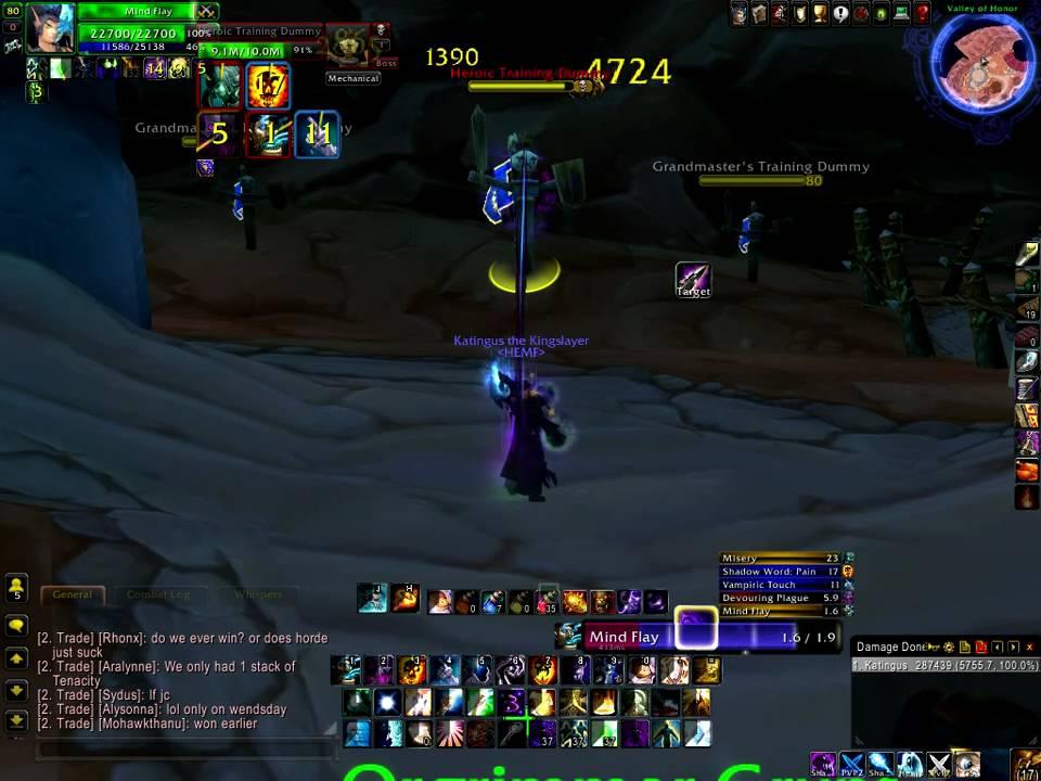 Shadow Priest Spell Rotation 3 3 5