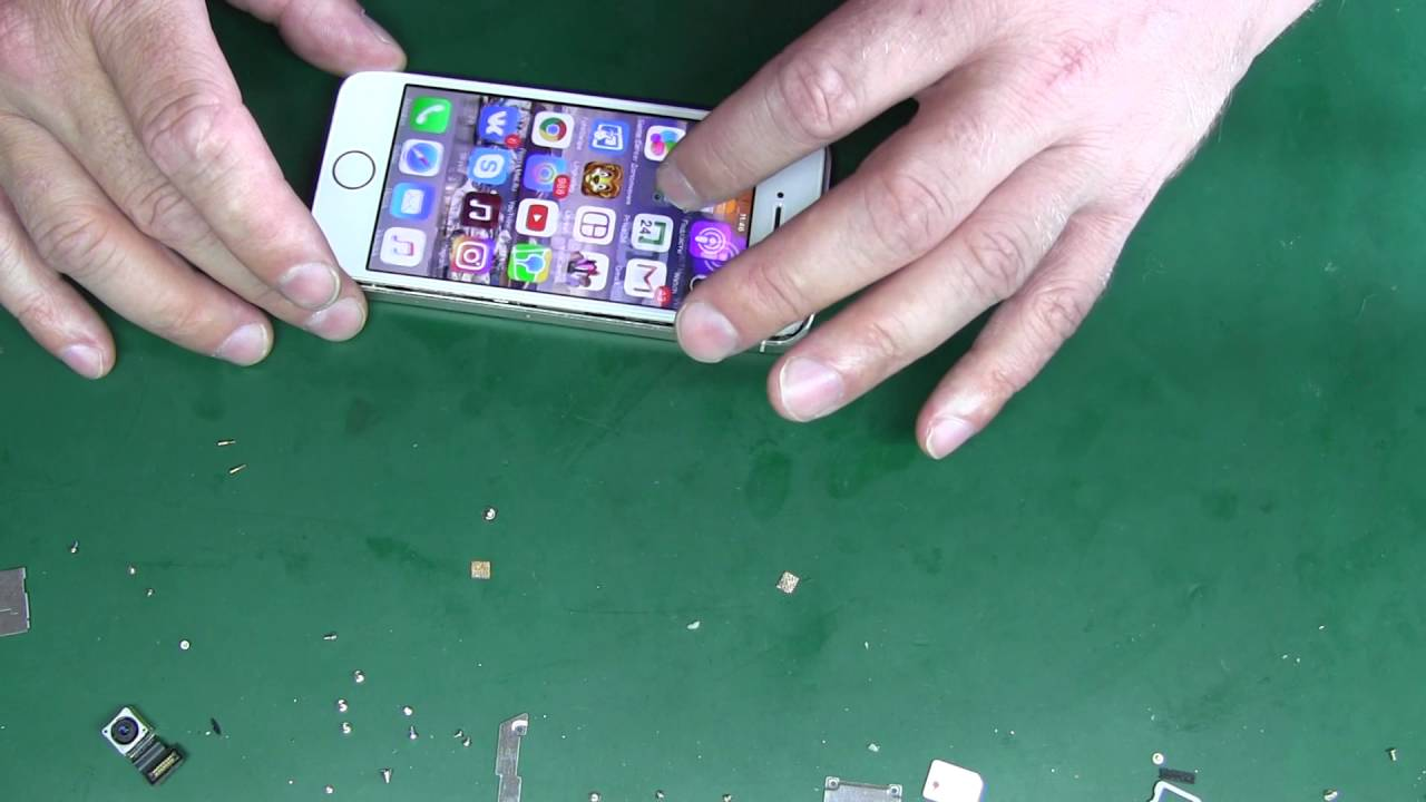iPhone 5s  не работает основная камера