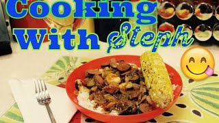 Cooking W/steph- Gumbo-laya